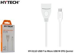 Hytech - Hytech HY-X110 USB F to MicroUSB M OTG Çevirici